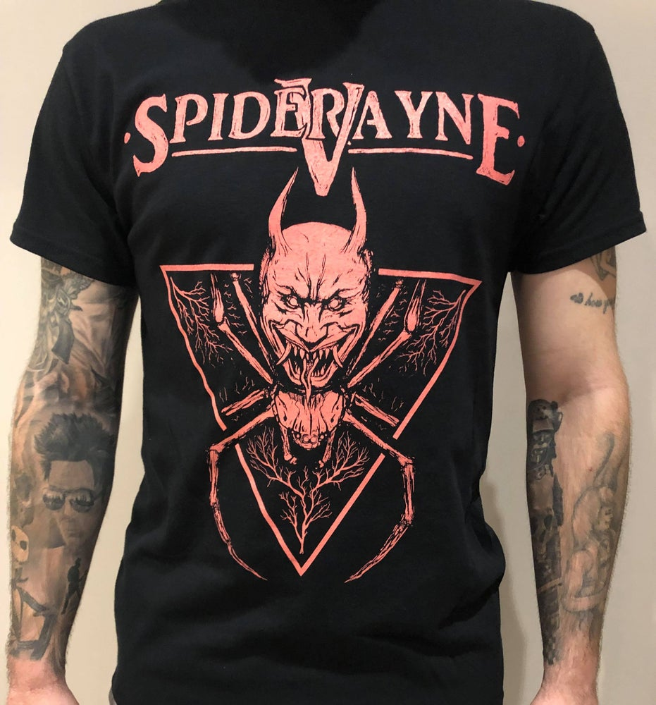 Image of Unisex Spidervayne band T-Shirt