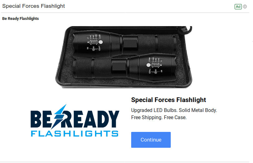 Image of Special Forces Flashlight