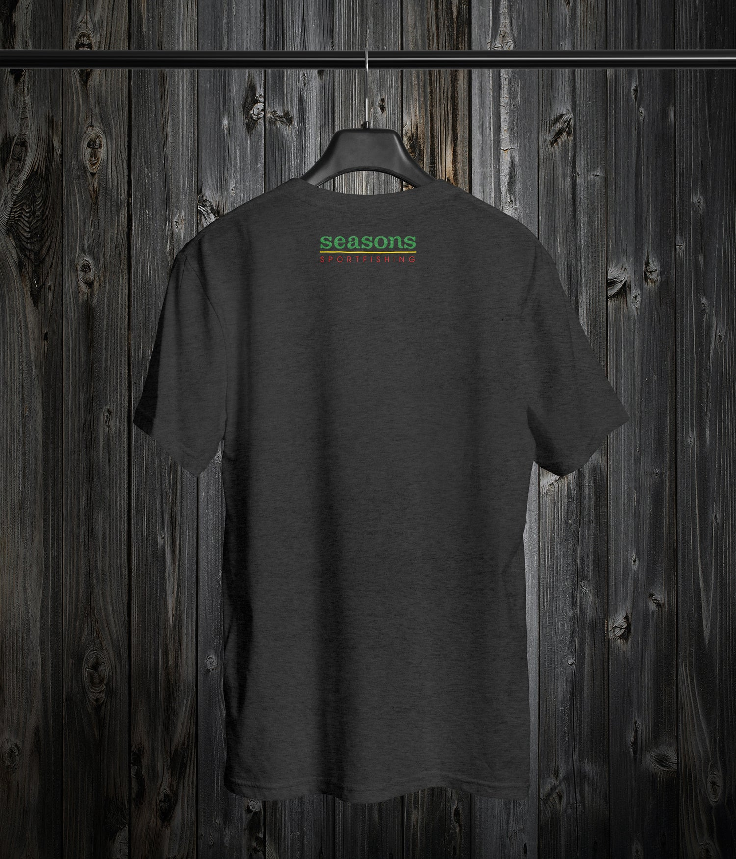 Image of SEASONS - ASH - RASTA SONAR SCHOOL (LARGE HIT ON THE FRONT AND LOGO SMALL ON BACK)