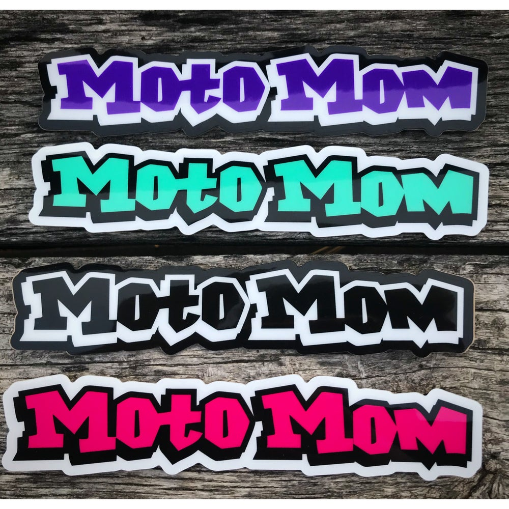 Image of Moto Mom Decal