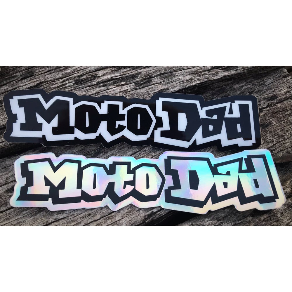 Image of Moto Dad Decal