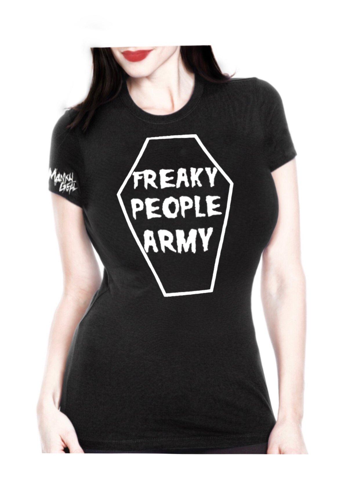 Image of Freaky People Army Women's Tee