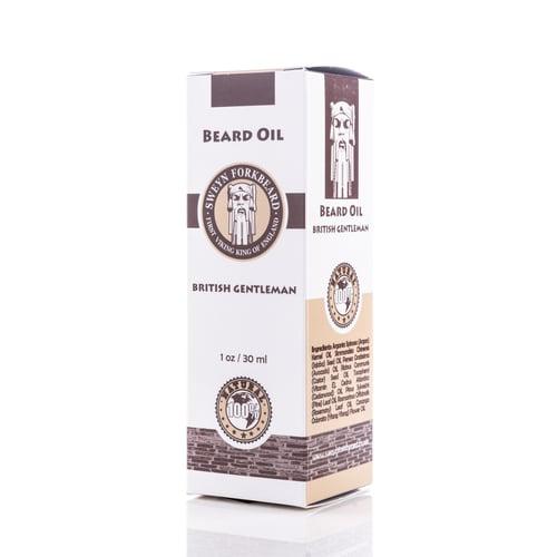 Image of Beard Oil British Gentleman 30 ml/1 oz