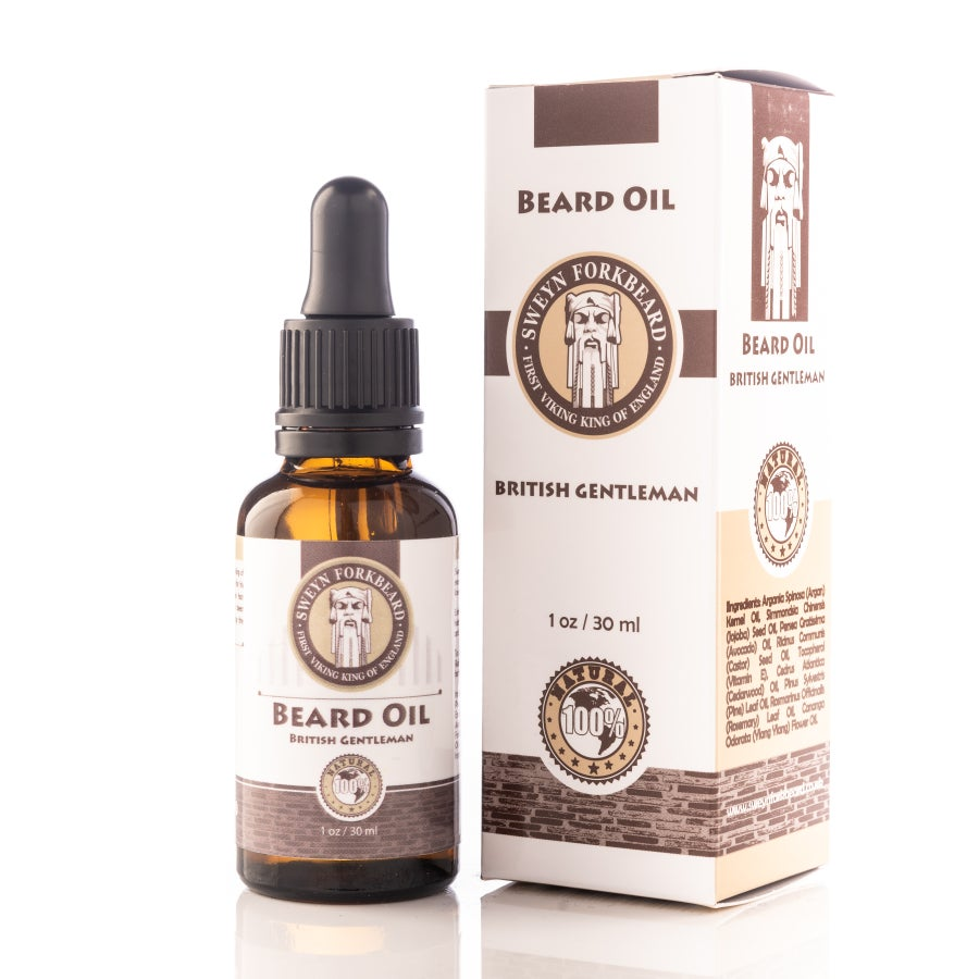 Image of Beard Oil British Gentleman 30 ml/1 oz
