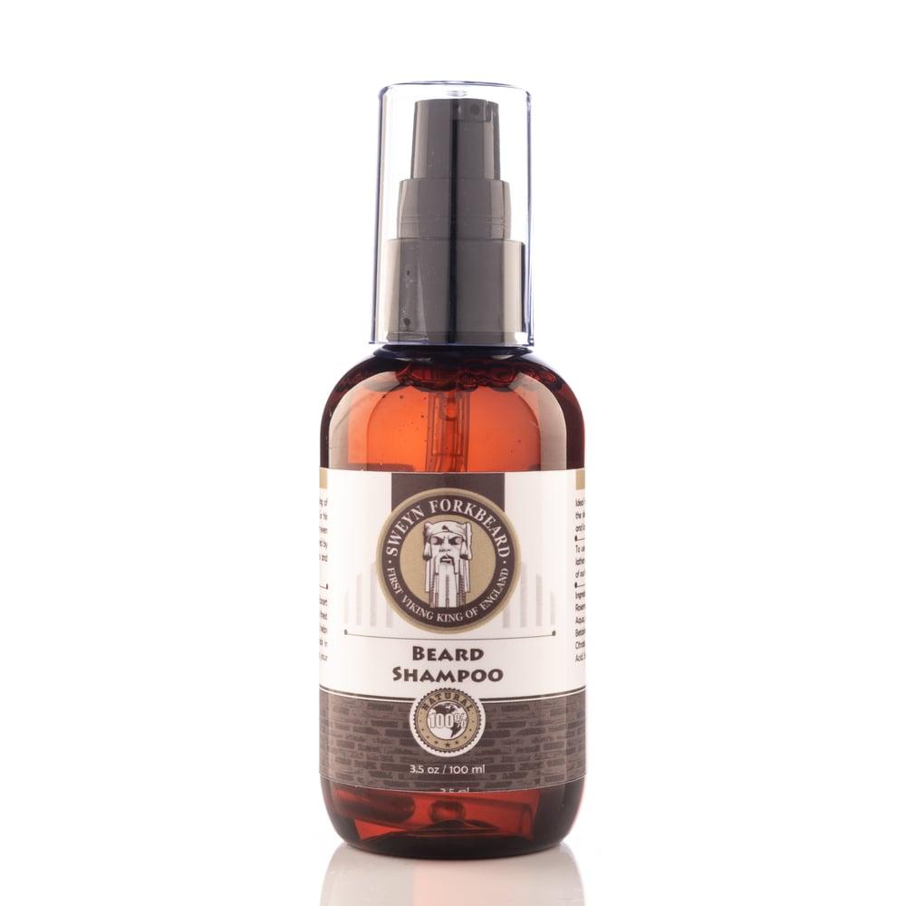 Image of Beard Shampoo 100 ml/3.5 oz (Ecocert Approved)