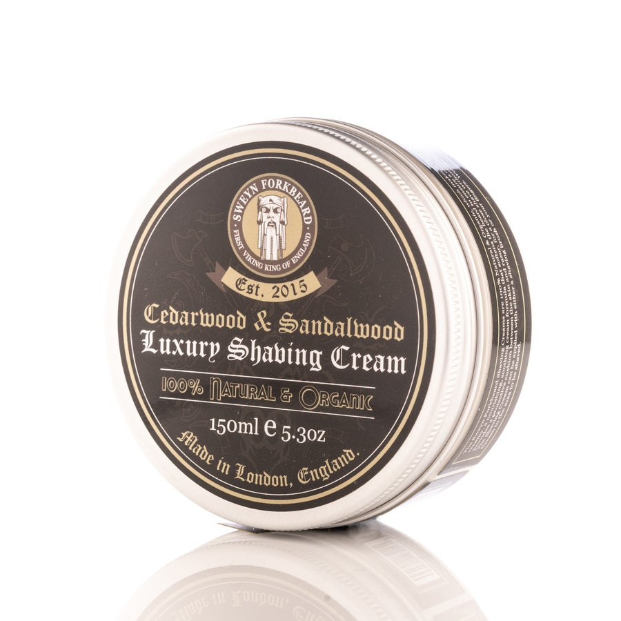 Image of Luxury Shaving Cream Cedarwood & Sandalwood 150g / 5.3oz