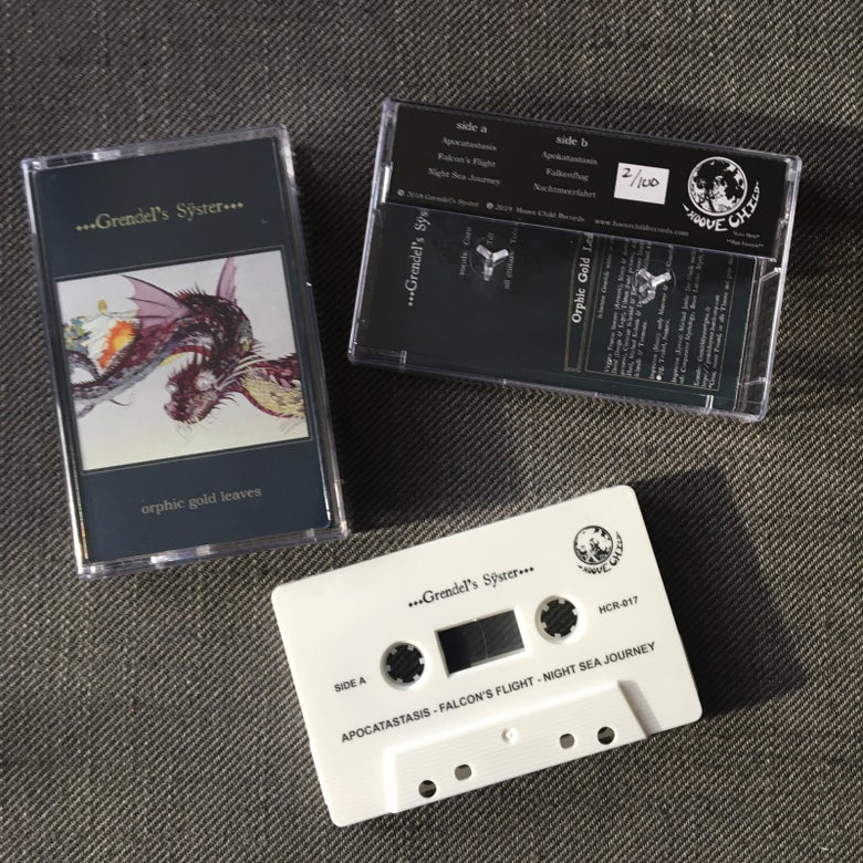 Image of Grendel's Syster - Orphic Gold Leaves Cassette