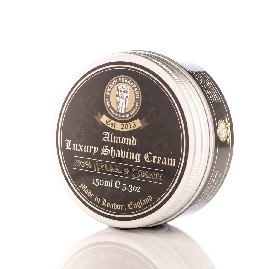 Image of Luxury Shaving Cream Almond 150g / 5.3oz