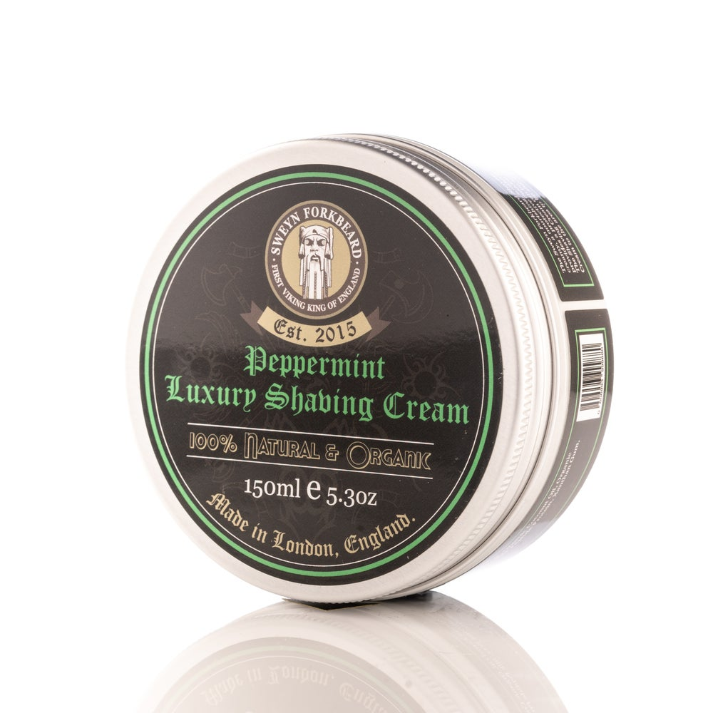 Image of Luxury Shaving Cream Peppermint 150ml / 5.3oz