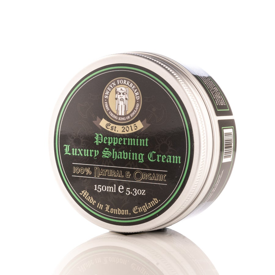 Image of Luxury Shaving Cream Peppermint 150g / 5.3oz