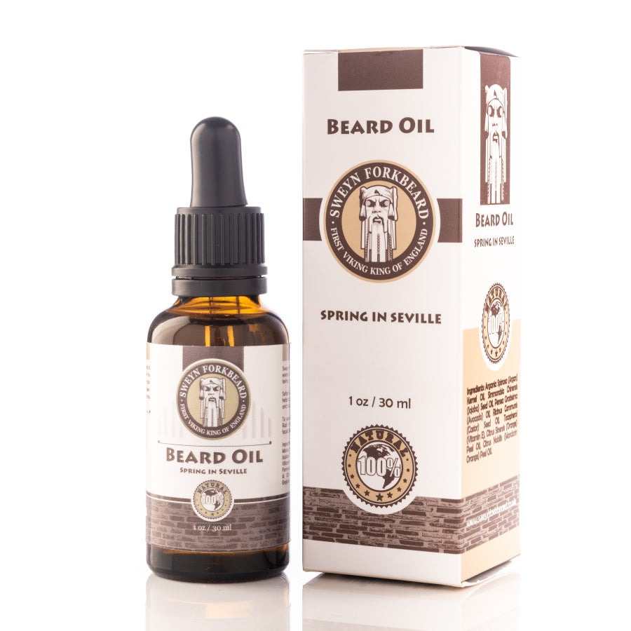 Image of Beard Oil Spring in Seville 30 ml/1 oz