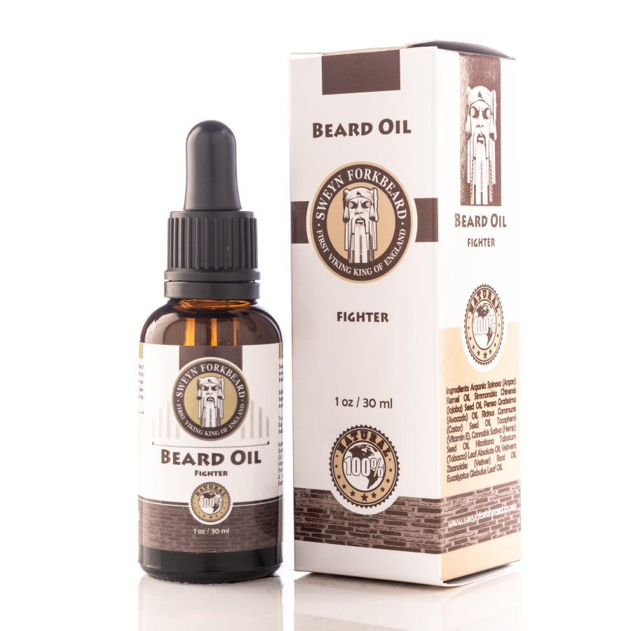 Image of Beard Oil Fighter 30 ml/1 oz
