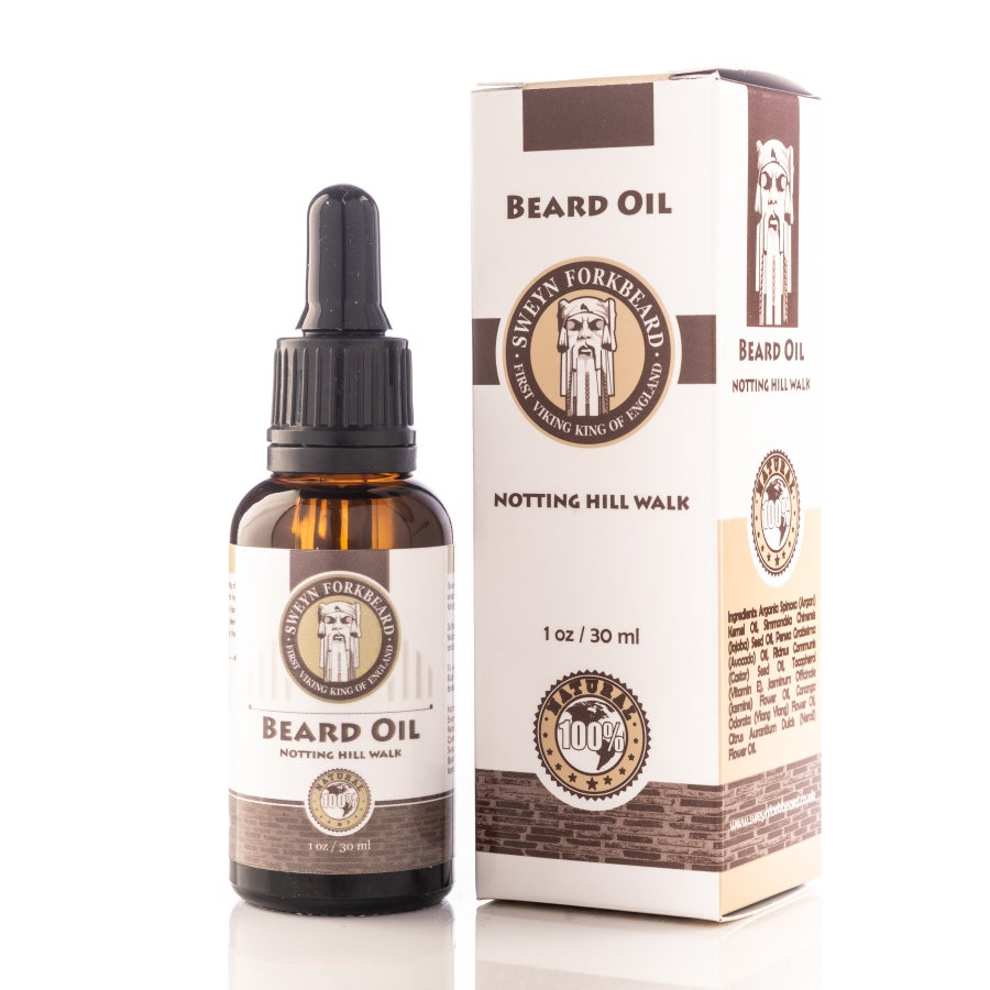 Image of Beard Oil Notting Hill Walk 30 ml/1 oz