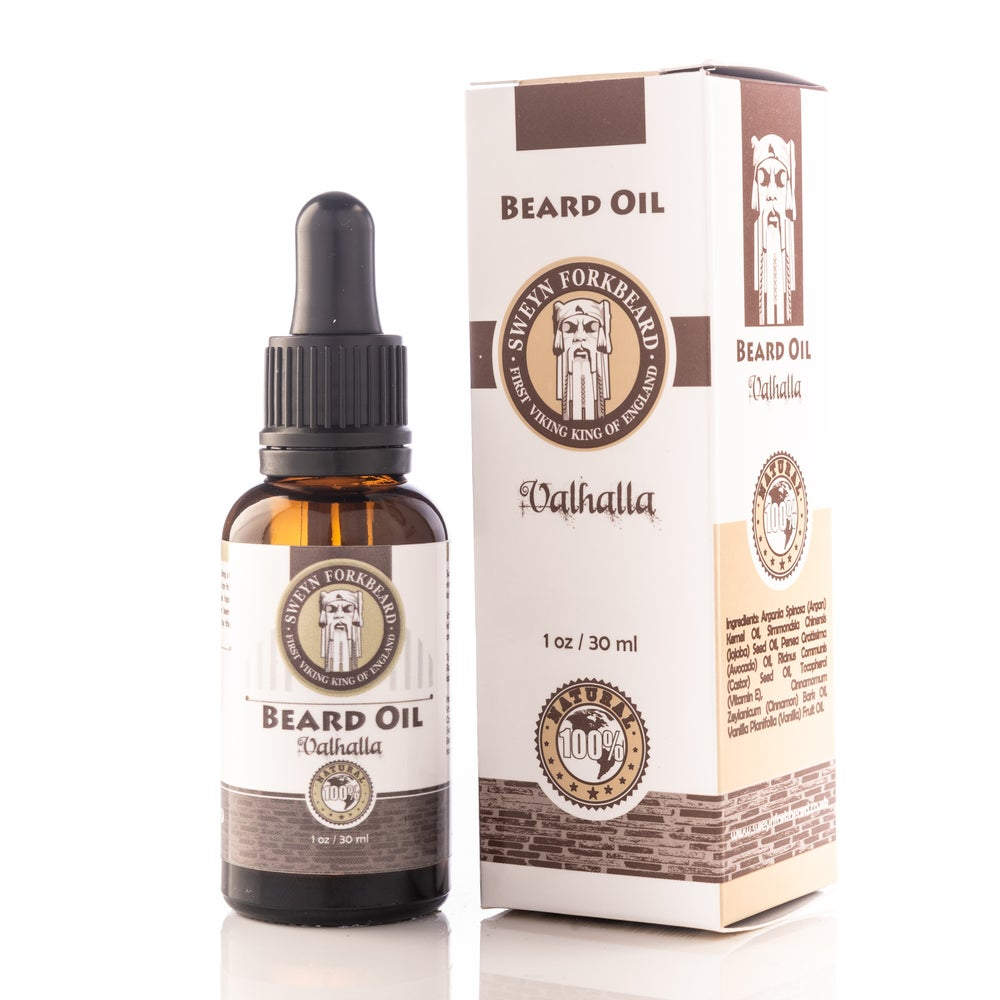 Image of Beard Oil Valhalla 30 ml/1 oz (Excellent for Christmas)