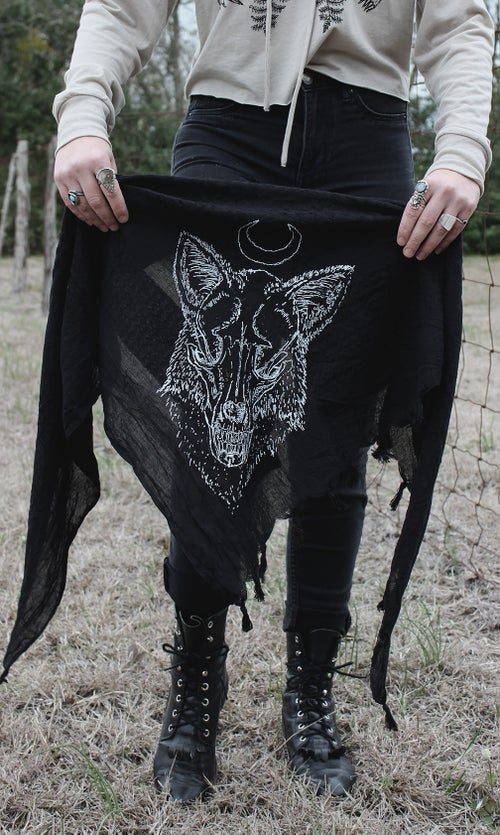 Image of FOX MOON SCARF