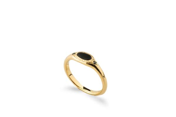 Image of Uri Black Diamonds Ring