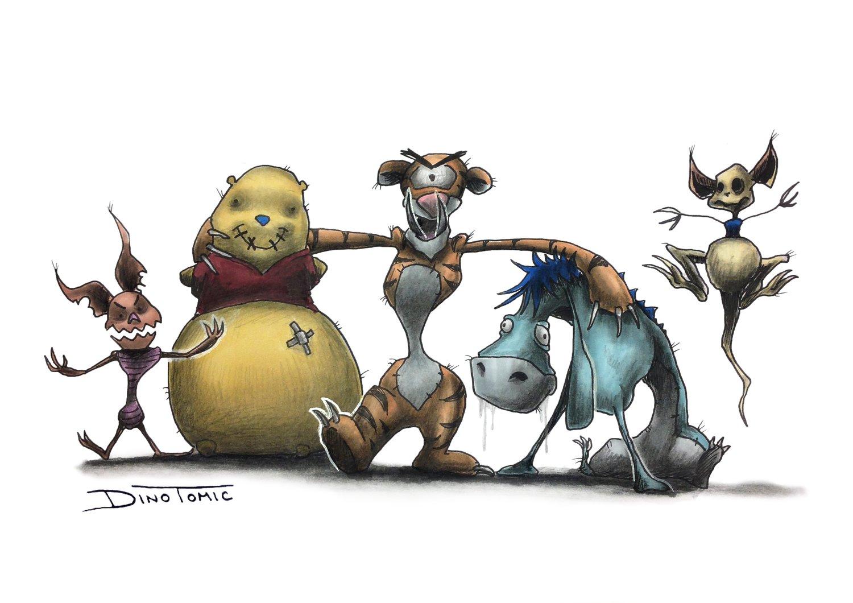 Image of #31 Winnie the Pooh Creepyfied