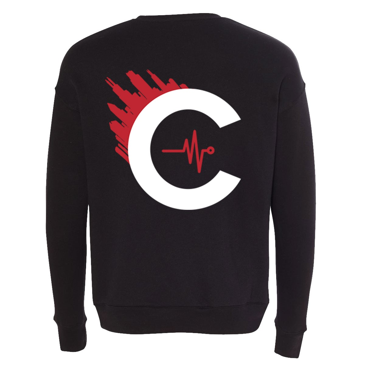 Image of CULTUREFLEE '19 Crewneck Sweater - BLACK