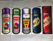 Image of Vintage Paint Stickers