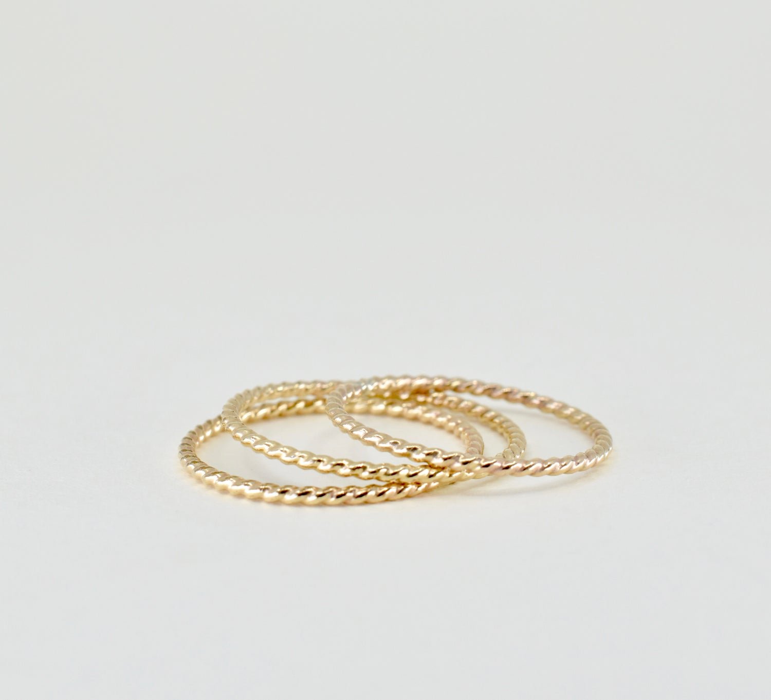Image of 14k Gold Filled Twist Ring