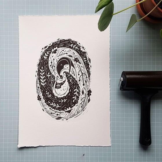 Image of Originalt trykk - YinYang av Anine Hansen