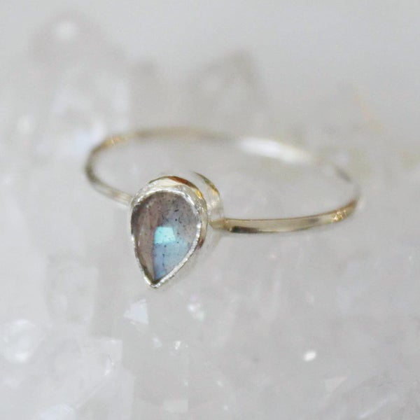 Image of Labradorite Moonstone ring