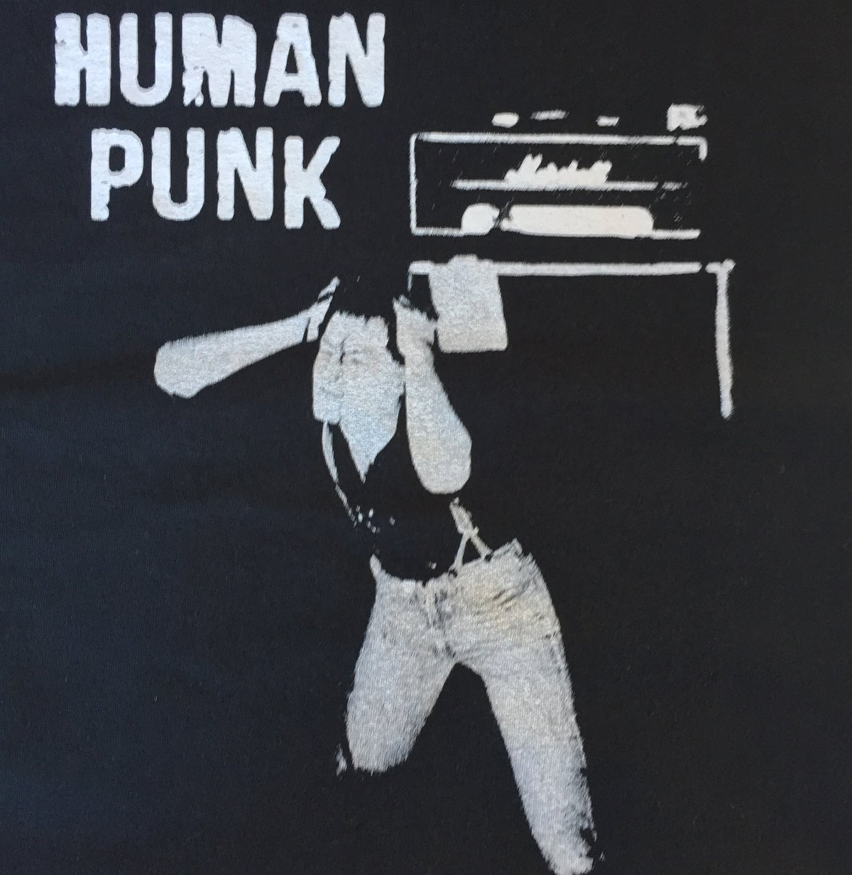 Image of Human Punk T-Shirt. Mens and Ladies
