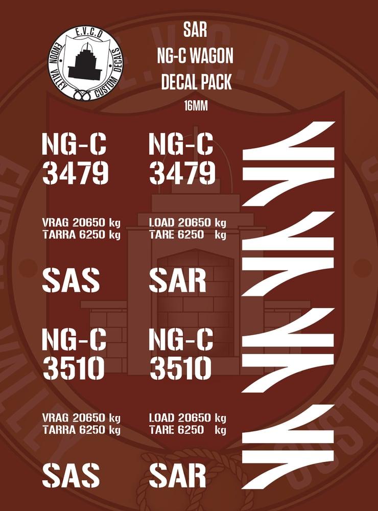 Image of SAR NG-C Wagon Decal Pack