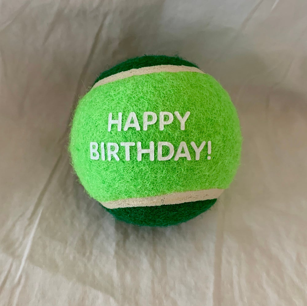 Image of Happy Birthday Ball Green