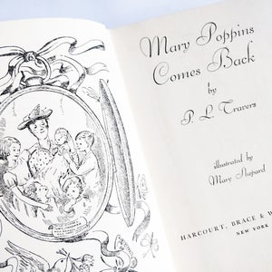 Image of P L Travers - Mary Poppins Comes Back
