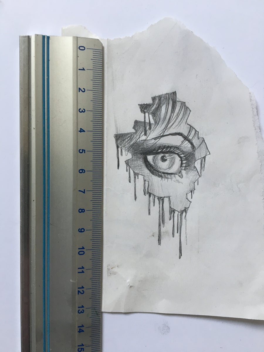 Image of dripping eye
