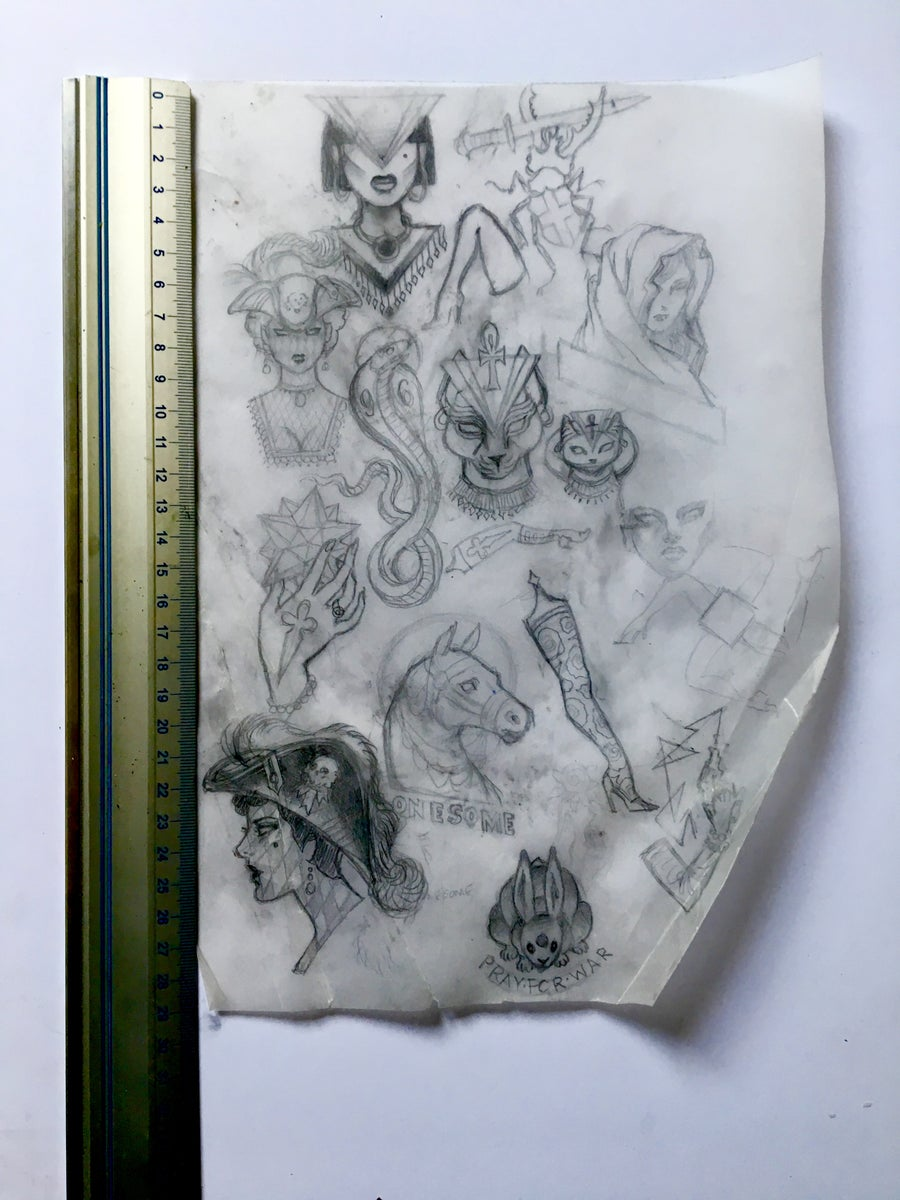 Image of concept sketches 1