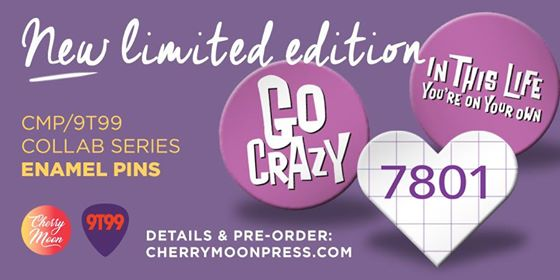 Image of 9T99 X CHERRY MOON PRESS (THIS IS A PREORDER AND SHIPS 3/25)
