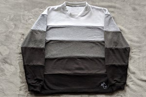 Image of White to Black Gradient Sweater