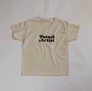 Image of Future Artist T-shirt Natural