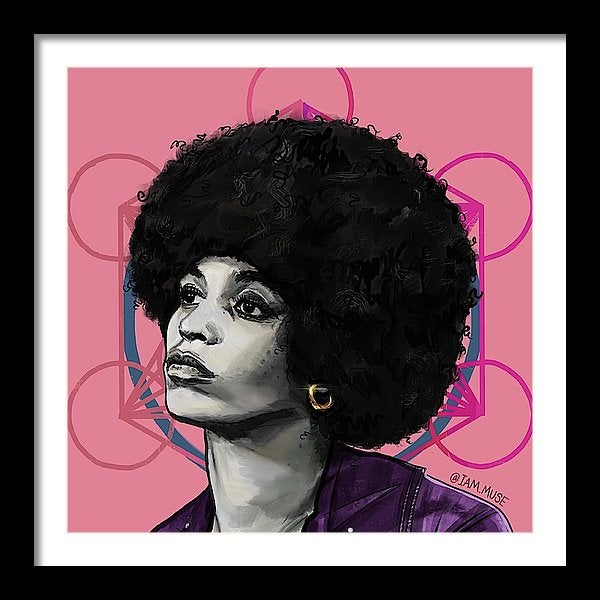 "Image of ""Angela Davis"" Limited Edition Prints"
