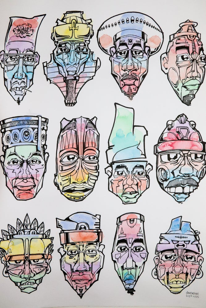 Image of Shucks Masks