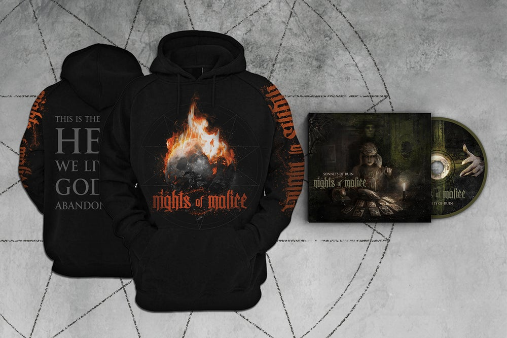"Image of CD + ""God has abandoned us"" Hoodie Bundle"