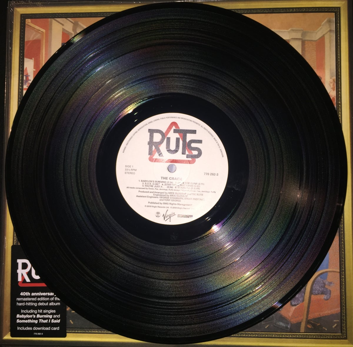 Image of Ruts 'The Crack' Vinyl LP