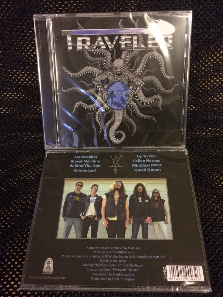 Image of Traveler S/T CD