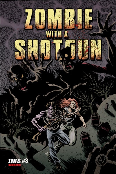 Image of Zombie with a Shotgun Comic Issue #3