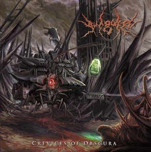 Image of VULGORE-CREVICES OF OBSCURA CD