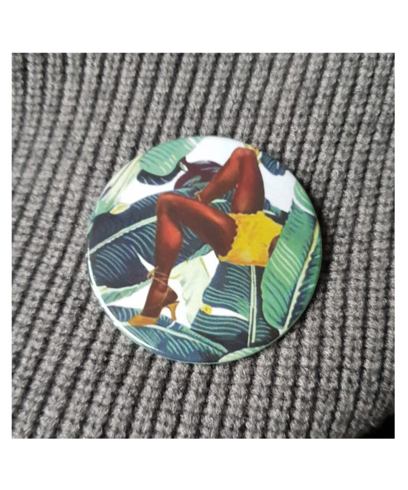 Image of The Hidden Pin Up badges