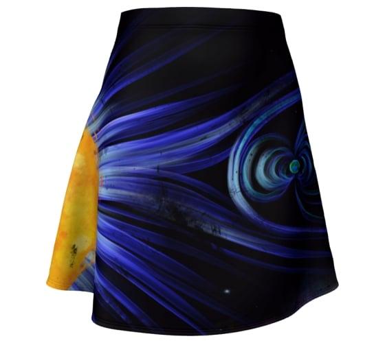 Image of Magnetic Fields Skater Skirt