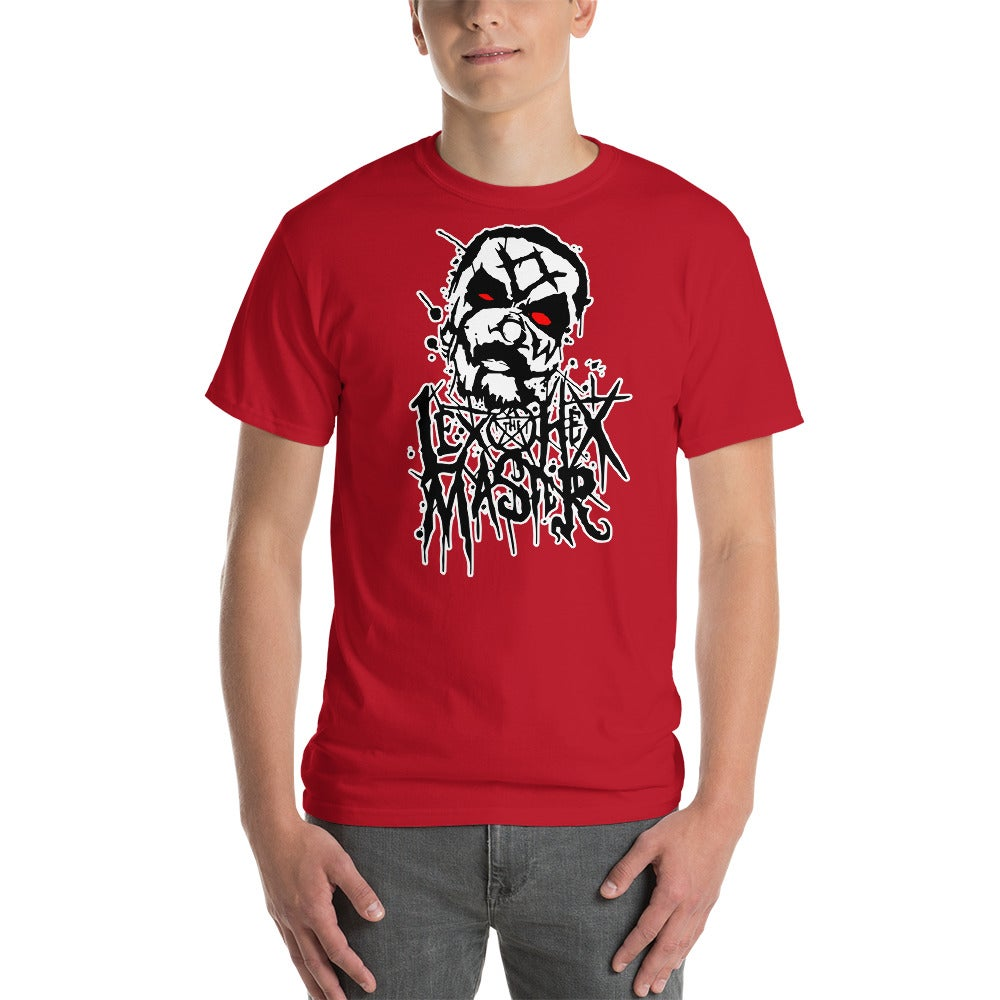 Image of Lex The Hex Master New Splatter Shirt Red