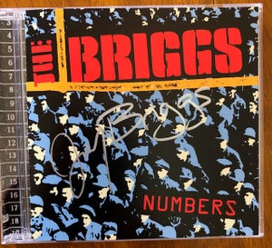 Image of SIGNED by Joey Briggs Numbers CD