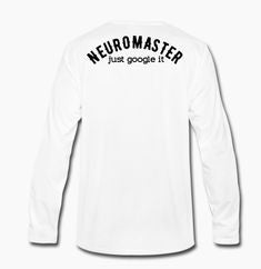 Image of NEUROMASTER - Brand - White Dirty [NEURO] - TShirt |White|