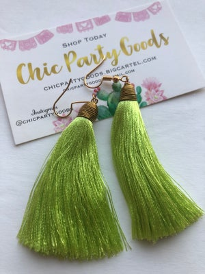 Image of Tassel Earrings -More Colors Available