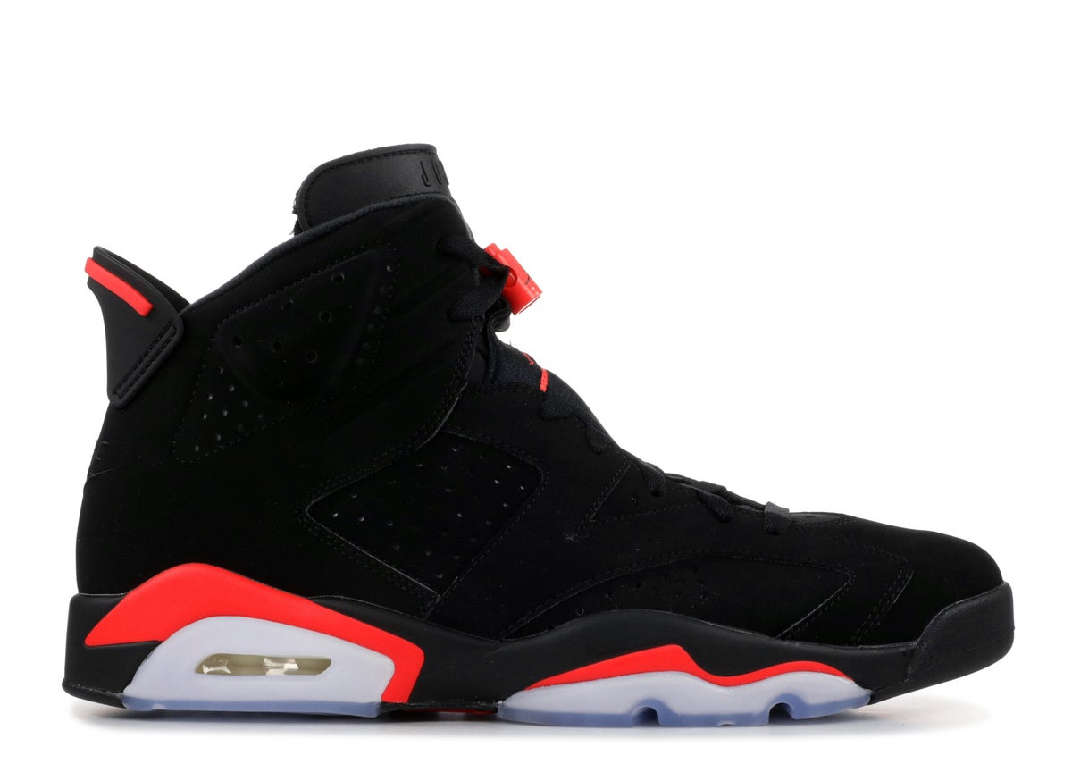 Image of Jordan 6 Black infrared 2019