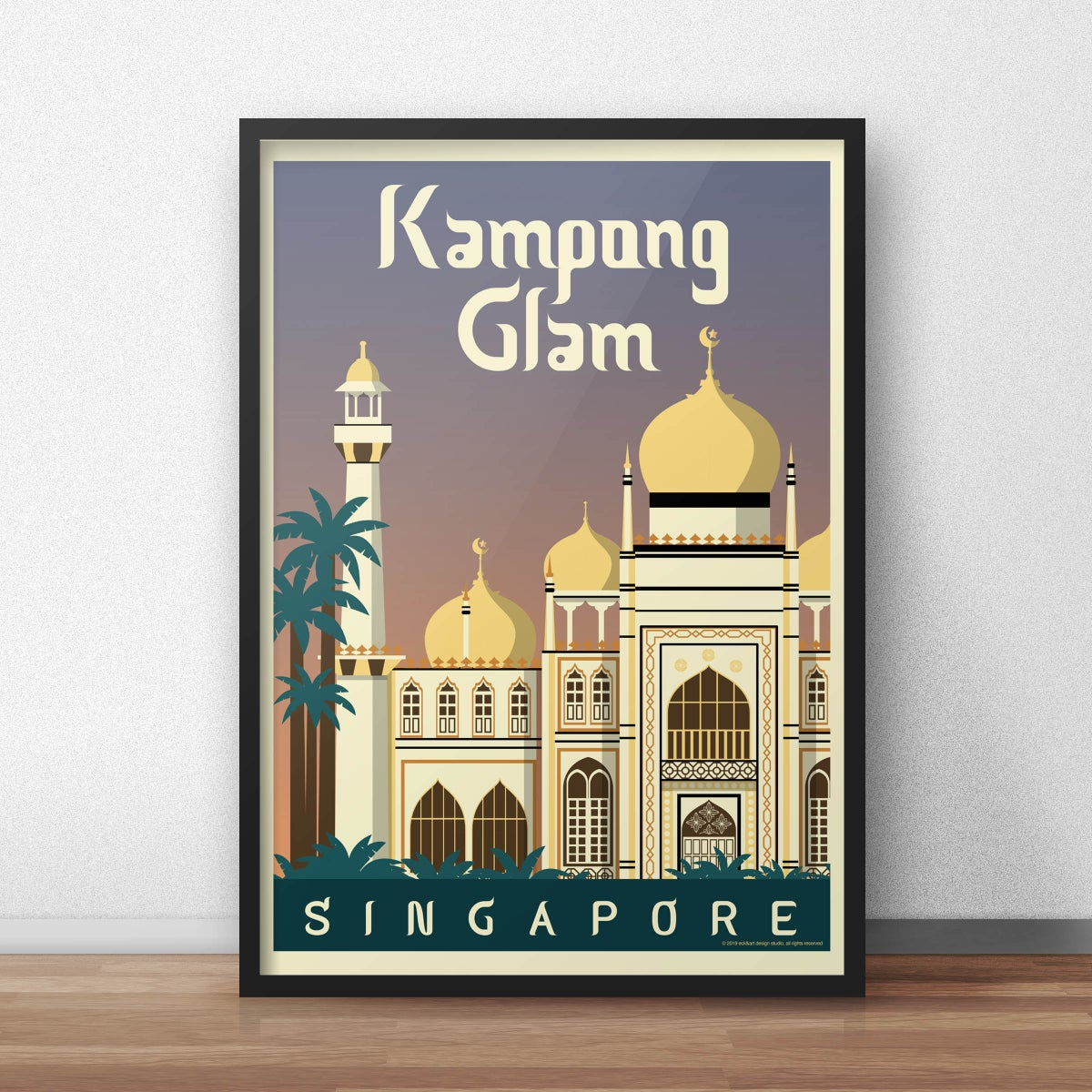 Image of Kampong Glam Poster